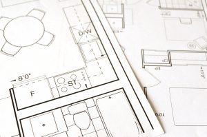 bouwkundig gebrek-tekening